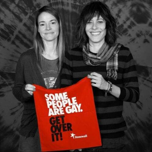 Two favorite characters from The L Word <3 Alice & Shane.