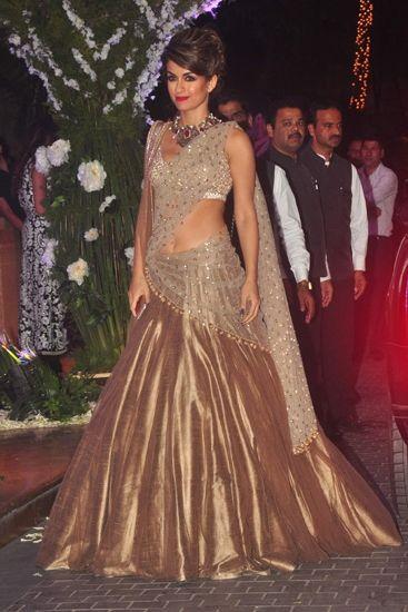 Natasha Poonawala in Beautiful Designer collection