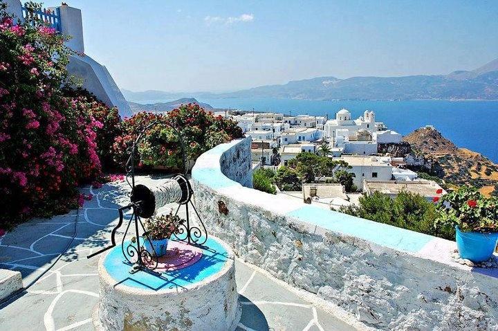On the island of Milos