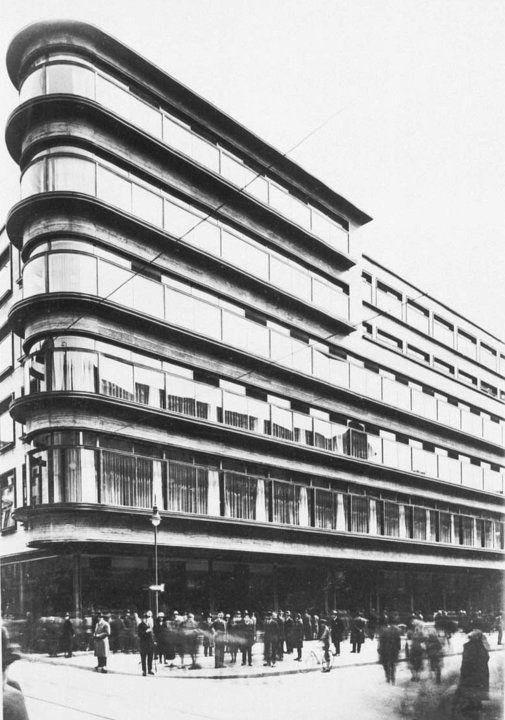 Kaufhaus Rudolf Petersdorff, Szewska 6-7 Wrocław/Breslau, arch. Erich Mendelsohn [1927-1929]