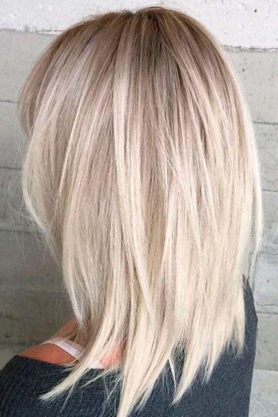 Nouvelle Tendance Coiffures Pour Femme 2017 / 2018 60 Idées les plus populaires pour la couleur des cheveux Blonde Ombre Voici l'adorable ombre blonde