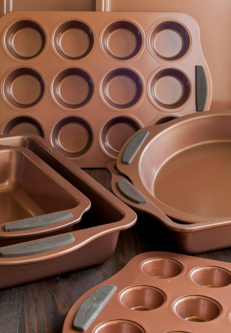 New Nordic Ware Freshly Baked, Copper Clean Bakeware Collection