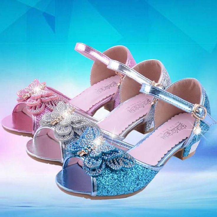 >> Click to Buy << HaoChengJiaDe Summer New Girl Sandals little Girl Sequins Diamond High With Princess Shoes Korean Crystal Cute Sandals Kids #Affiliate
