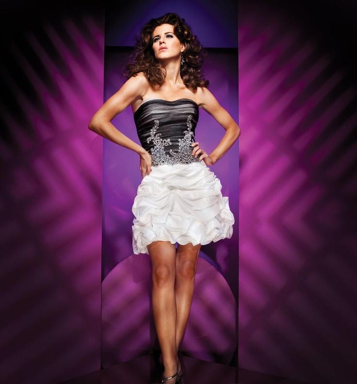 Multa Cocktail Dresses Black And White Ideas Ornamento Elaboración ...