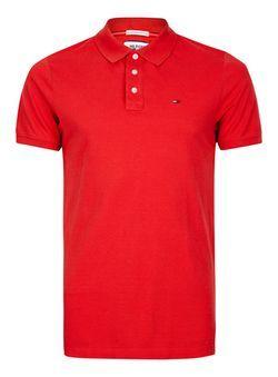 HILFIGER DENIM Red Polo Shirt
