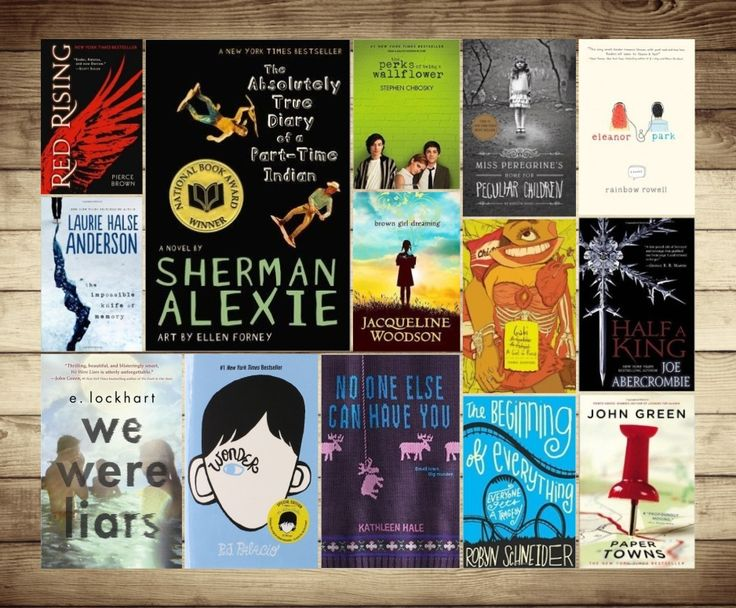 List of common themes in young adult novels