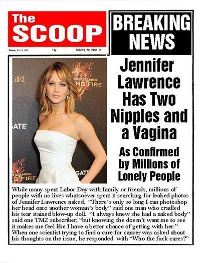 Jennifer Lawrence Fact Photo