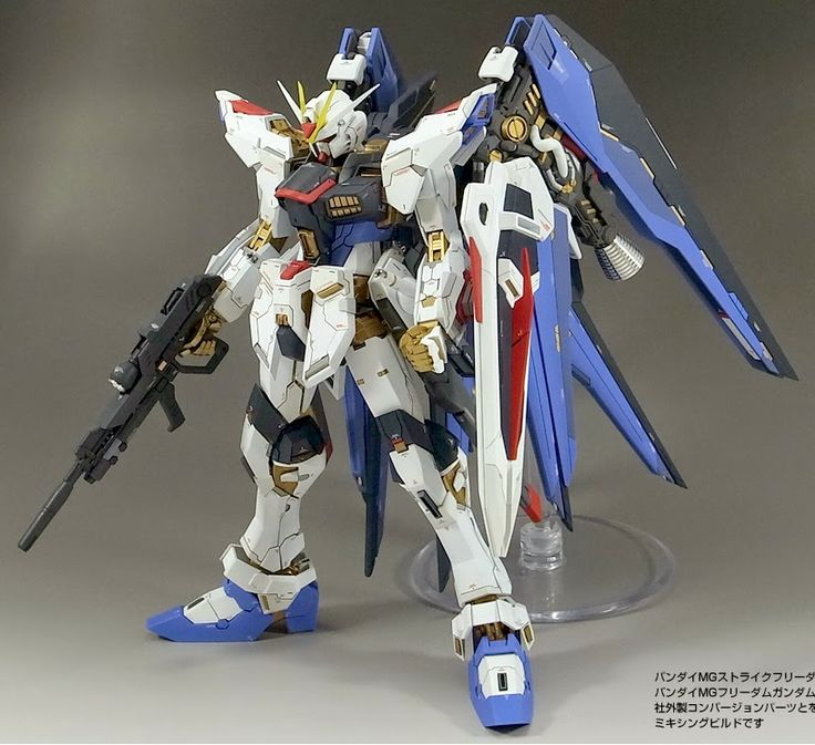 GUNDAM GUY: MG 1/100 Strike Freedom Gundam - Customized Build | Gunpla/Figures/Toys | Pinterest ...