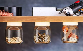 Sieh dir an, was man aus leeren nutella Gläsern machen kann