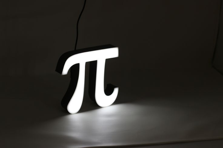"Mini ""Pi"" Lighting in a Luxury Packaging. Pi (π), the 16th letter of the Greek alphabet, is the most widely-known mathematical constant in the world. It is a number and a cultural phenomenon and obsession. It's mysterious and pattern-less nature makes Pi (π) the ultimate symbol of infinity."