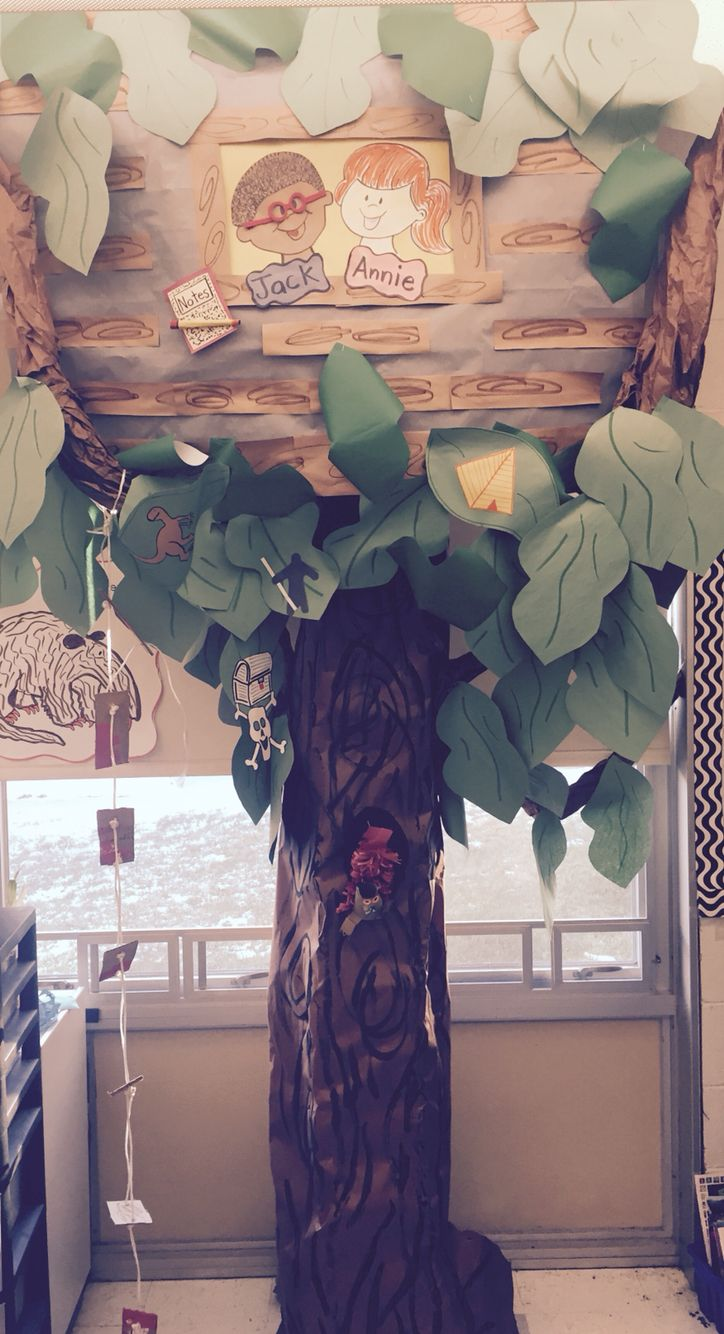 The 25+ Best Magic Treehouse Ideas On Pinterest  Paper Tree Classroom, Magic  Tree House Lessons And Jungle Door