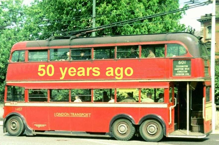 This weekend there's a Special Events to mark the 50th Anniversary of the end of London's Trolleybus era.  Celebrating 31 years of silent service by London's Trolleybuses.  Come and see the display of London Trolleybuses and Buses.