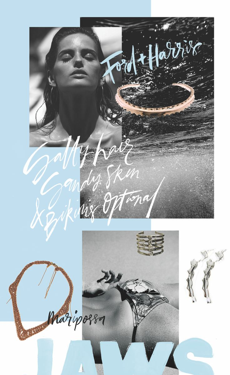 JAWS; by Jasmine Dowling – The Hunter Story. #jewellery #fashion #summer