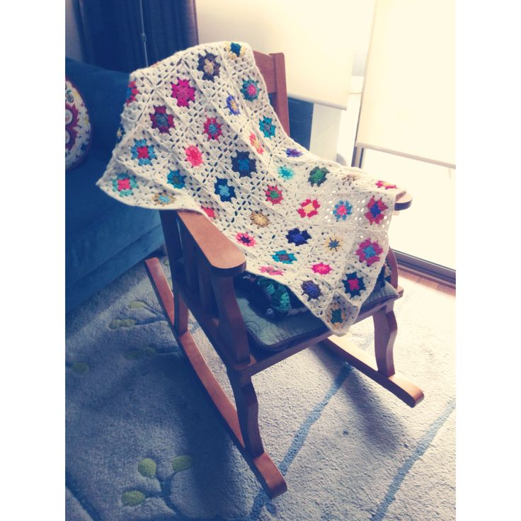 Mecedera/crochet ❤️