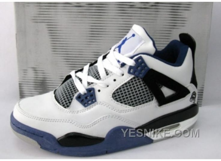 Jordan Shoes Air Jordan 4 Retro White Black Purple [Air Jordan 4 - Air  Jordan 4 Retro White Black Purple have the features include white leather  upper along ...
