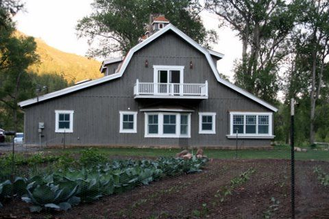 313 best images about barn metal homes on pinterest for Gambrel metal homes