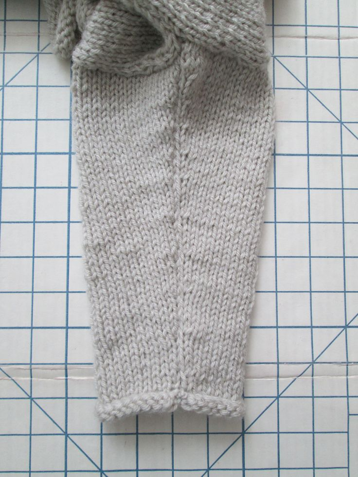 """Underarm Sleeve Seam. Sweater Based on """"1,2,3, or 4 Pullover"""" by Gail Pfeifle of ROO  DESIGNS.  I Bought the Pattern from Ravelry."""