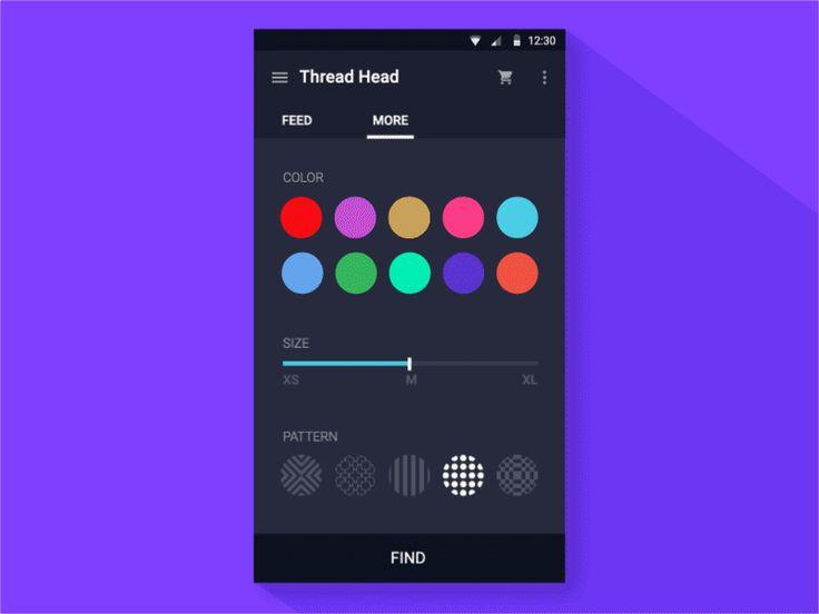 UI/UX Works by Hanna Jung | Abduzeedo Design Inspiration