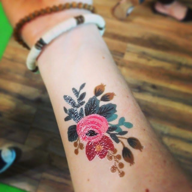 Best 25 colorful rose tattoos ideas on pinterest for Standard ink tattoo company