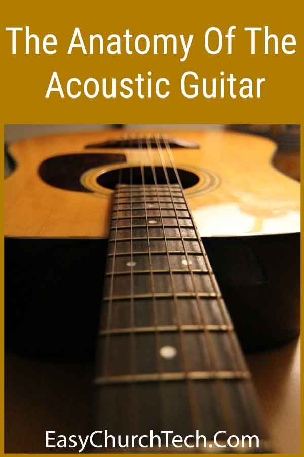 The Anatomy Of The Acoustic Guitar Guitar Acoustic Acoustic Guitar