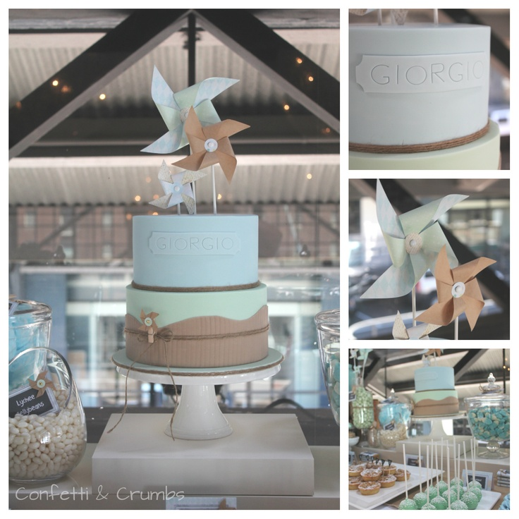 Little big Company blog: a Pinwheel Christening by Confetti and Crumbs