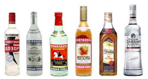 Russian Vodka Brands