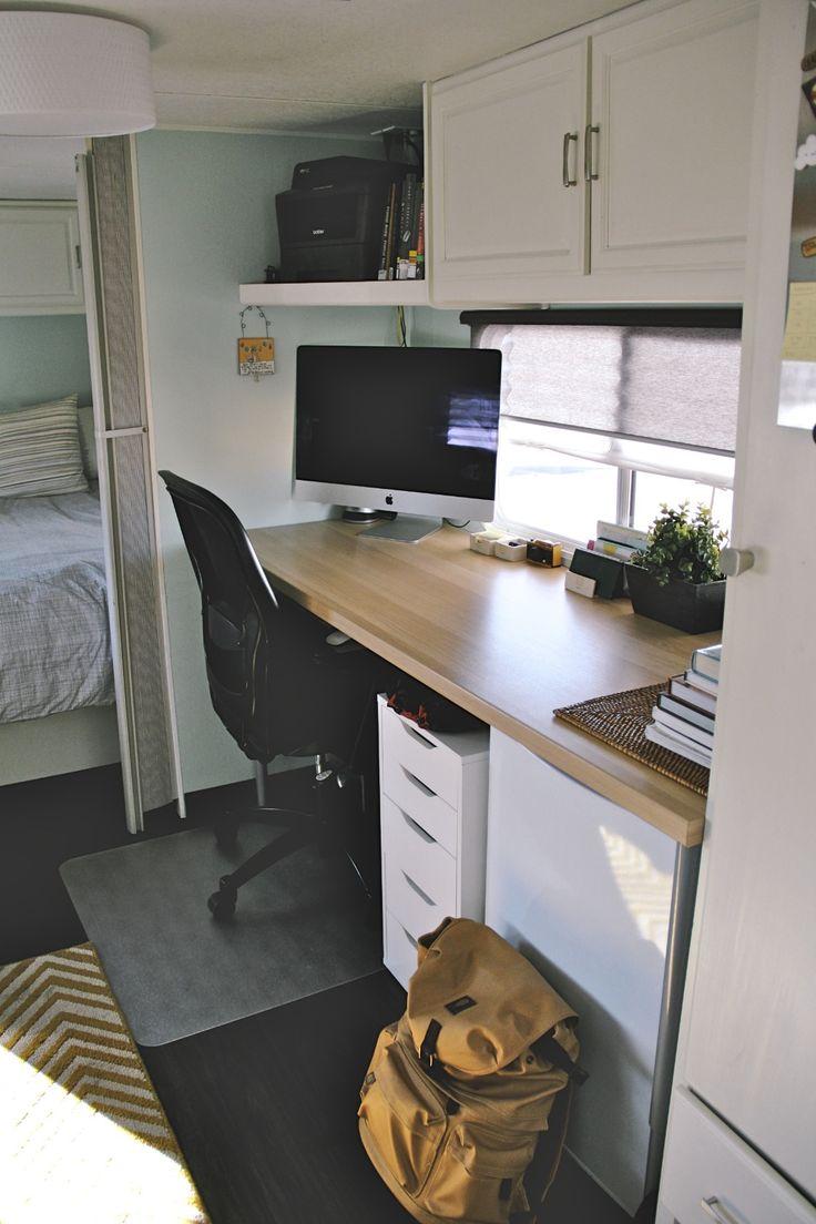 Desk After Camping Pinterest Home Desks And Blog
