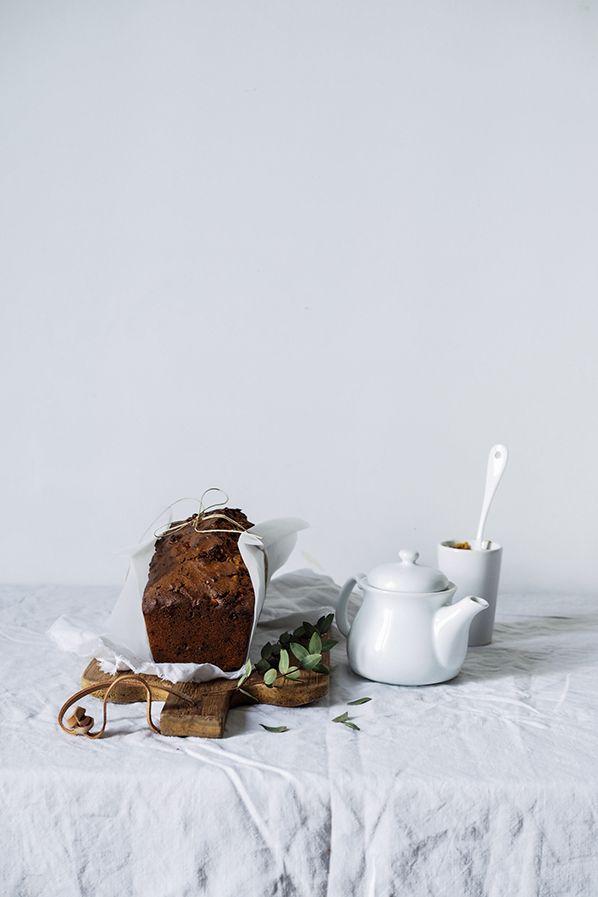 cake rustique au chocolat et aux noisettes