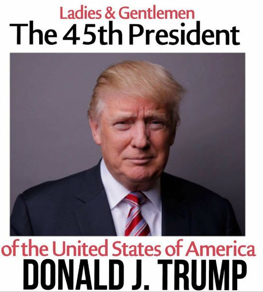 Suck it snowflakes  I am proud to say Mr. Trump is our President!!