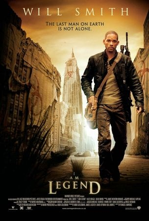 "I Am Legend. Will Smith.  I was surprised by this movie.  Didn't expect to like it as much as I did.  I was already glued to the screen before Will Smith's character popped in a cd of Bob Marley's ""Three Little Birds"", which is one of my favorite songs ever.  And a brilliant song choice for the movie,"