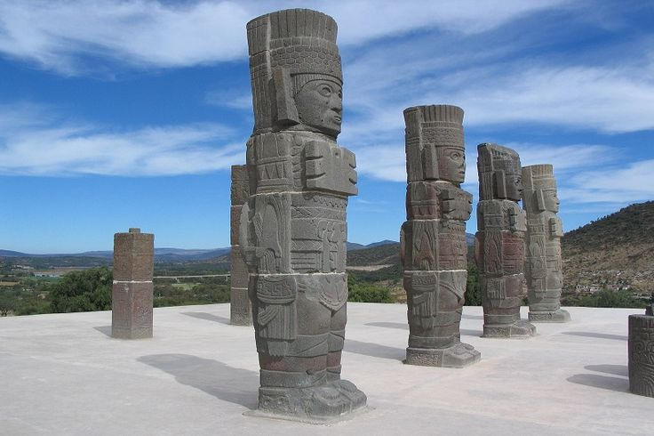 Discover the story behind these ancient Atlantean Figures:  #Explore #Atlantean #Tula #Charro #Mexico #History #Amazing