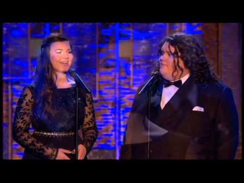 "Jonathan and Charlotte ~ 17 yrs & 16 yrs old respectively ~ singing ""Vero Amore"" (Your Song)"