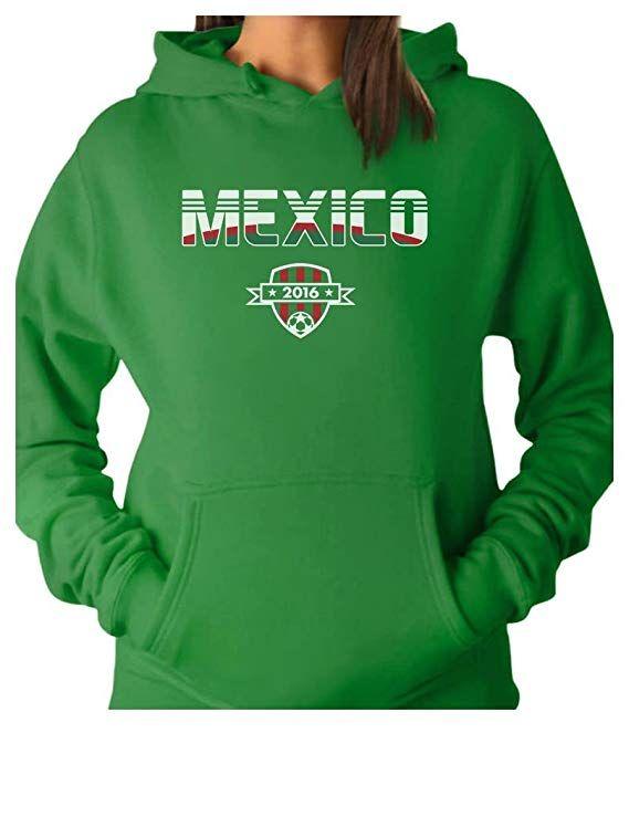 c7abecdfa Tstars TeeStars - Mexico National Soccer Team 2016 Fans Women Hoodie Medium  Green