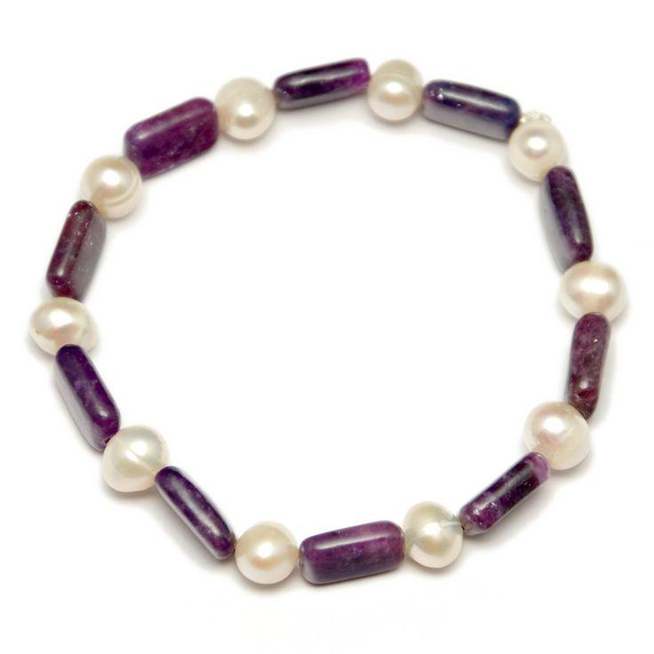 náramok čaroid-perly