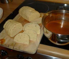 Recept Kuře na paprice s houskovým knedlíkem od eliska - Recept z kategorie Hlavní jídla - maso