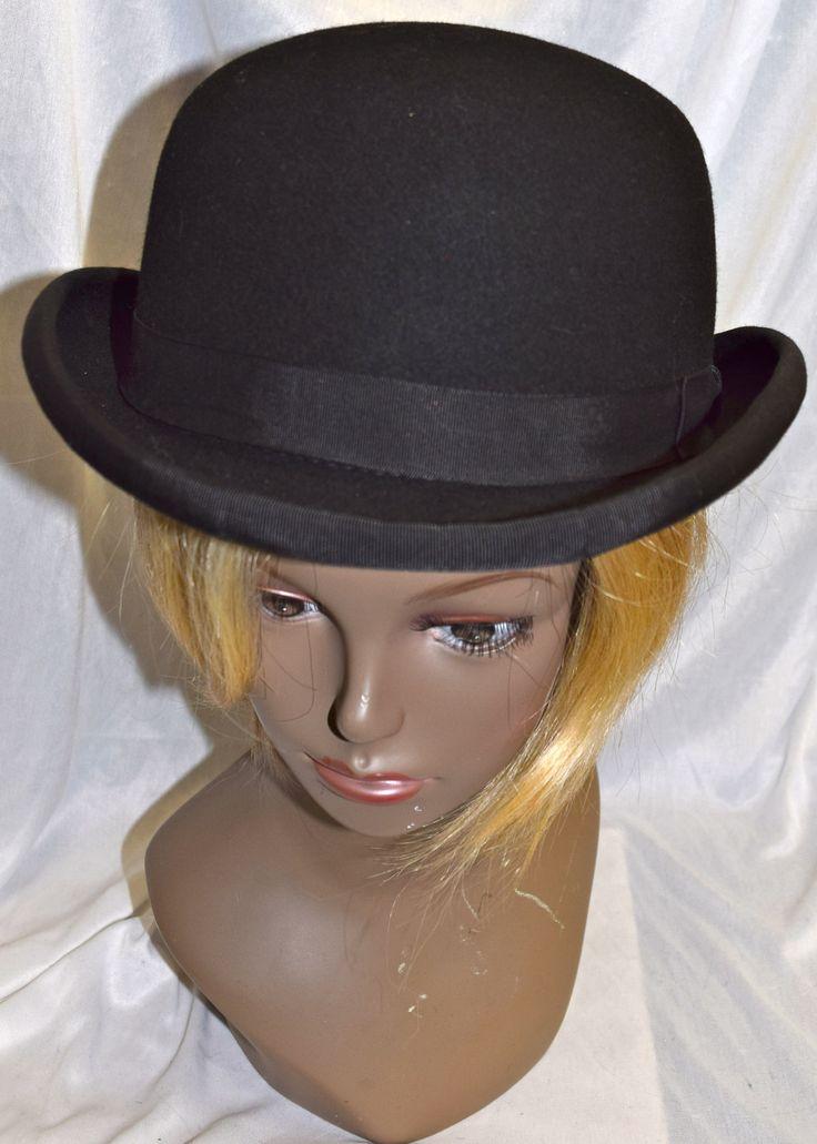 Quality Black Bowler Hat