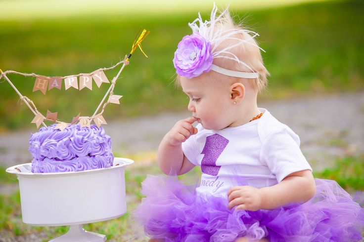 Vintage Purple Cake Smash-