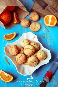 Sıvı Yağlı Portakallı Kurabiye