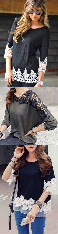Sweaters, T-shirts, lace, and, Crafts - change...♥ Deniz ♥