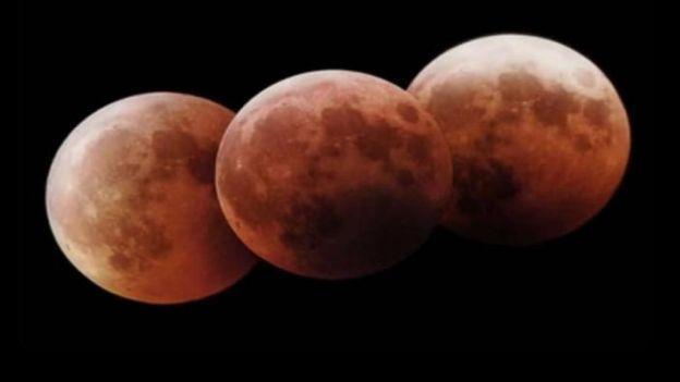 El eclipse lunar se verá en toda América