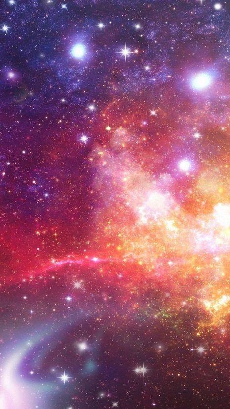 Galaxy Background Iphone 8