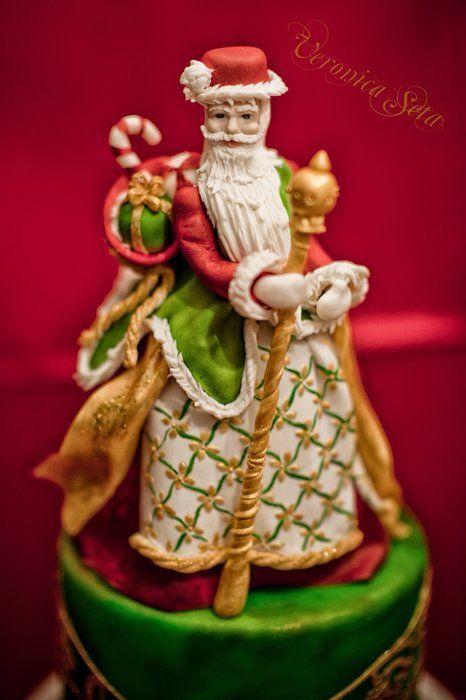 My Christmas Cake - by letortediveronica @ CakesDecor.com - cake decorating website