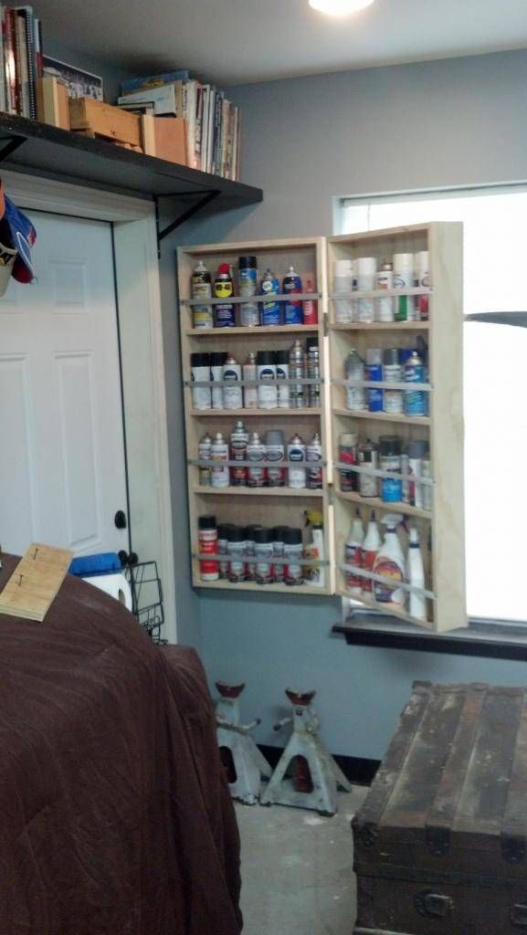 Spray paint can cabinet - The Garage Journal Board ...