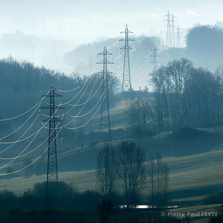 Dans la brume électrique - Pierre-Paul Feyte Photographie | Brumes et brouillards