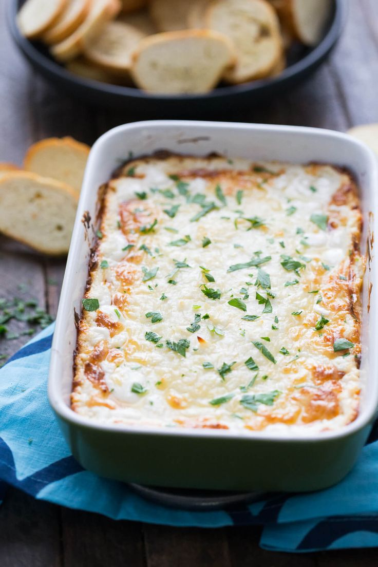 This ultra gooey cheese dip takes the best part of the bread and makes it a dippable, sharable, appetizer everyone will love!