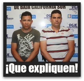 Detenidos por disparar armas de fuego.