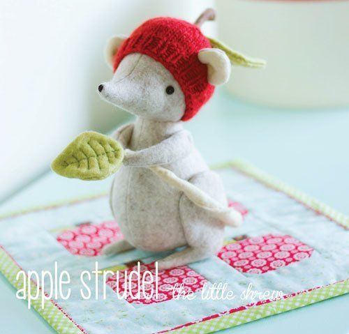 """""""Apple Strudel"""" designed by Simone Gooding for May Blossom."""