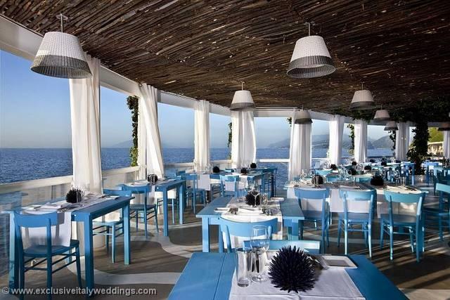 Beach Restaurant Location Www Exclusiveitalyweddings My Weddings Pinterest Restaurants And Cafe Design