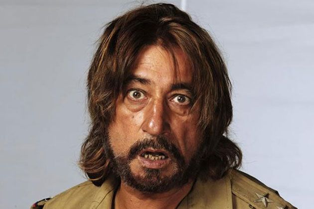 One of Bollywood's on screen lechs, always leering at the heroine, getting thrashed by the hero in the end, Owww, Shakti Kapoor.