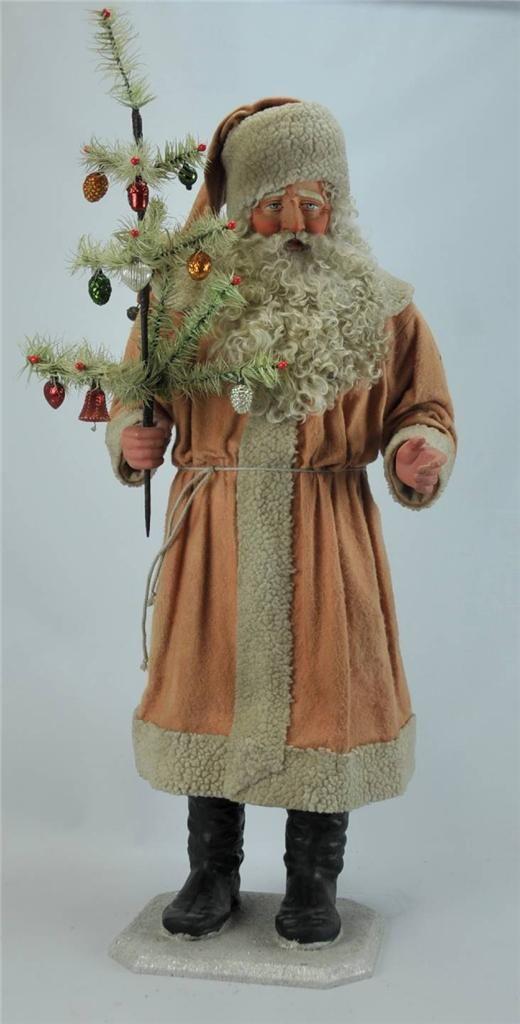 Kathy Patterson primitive santa